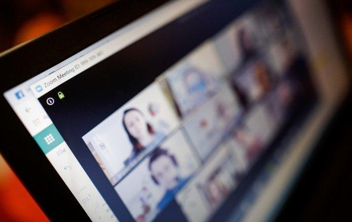 Zoom Meeting Bildschirm